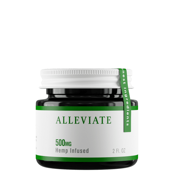 500mg Broad Spectrum CBD Hemp Infused Alleviate Topical Salve Cream